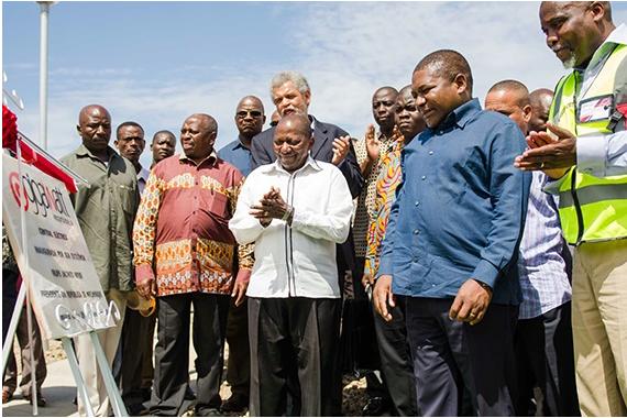 President inaugurates Power Station