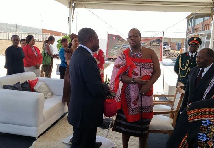 Eswatini King visits Power Station